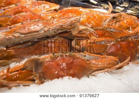 Crabs On The Market