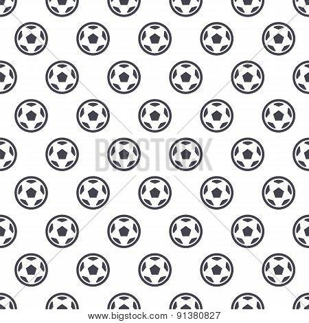 Soccer Ball Seamless Background