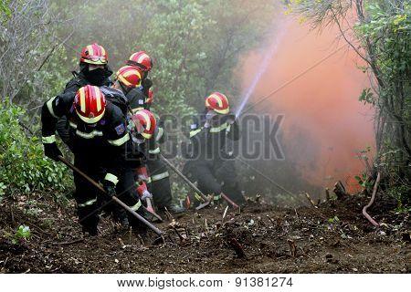 :pan-european Exercise Of The Fire Brigade