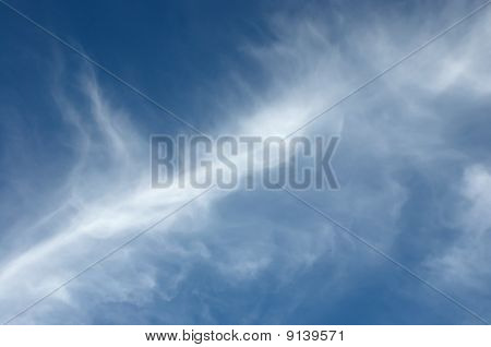 Abstract Picture Of Clouds In The Sky