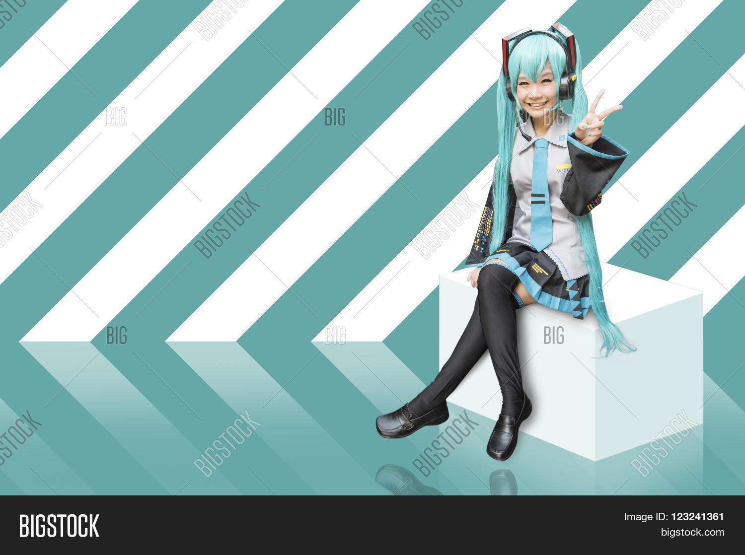 Japan Anime Cosplay Image Photo Free Trial Bigstock