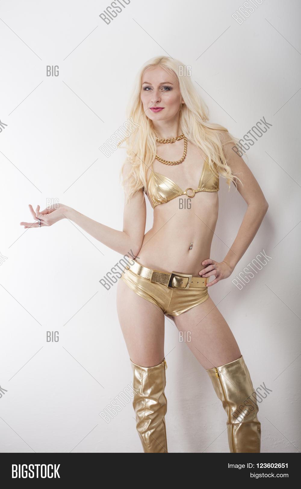 Hot Blonde In Bikini