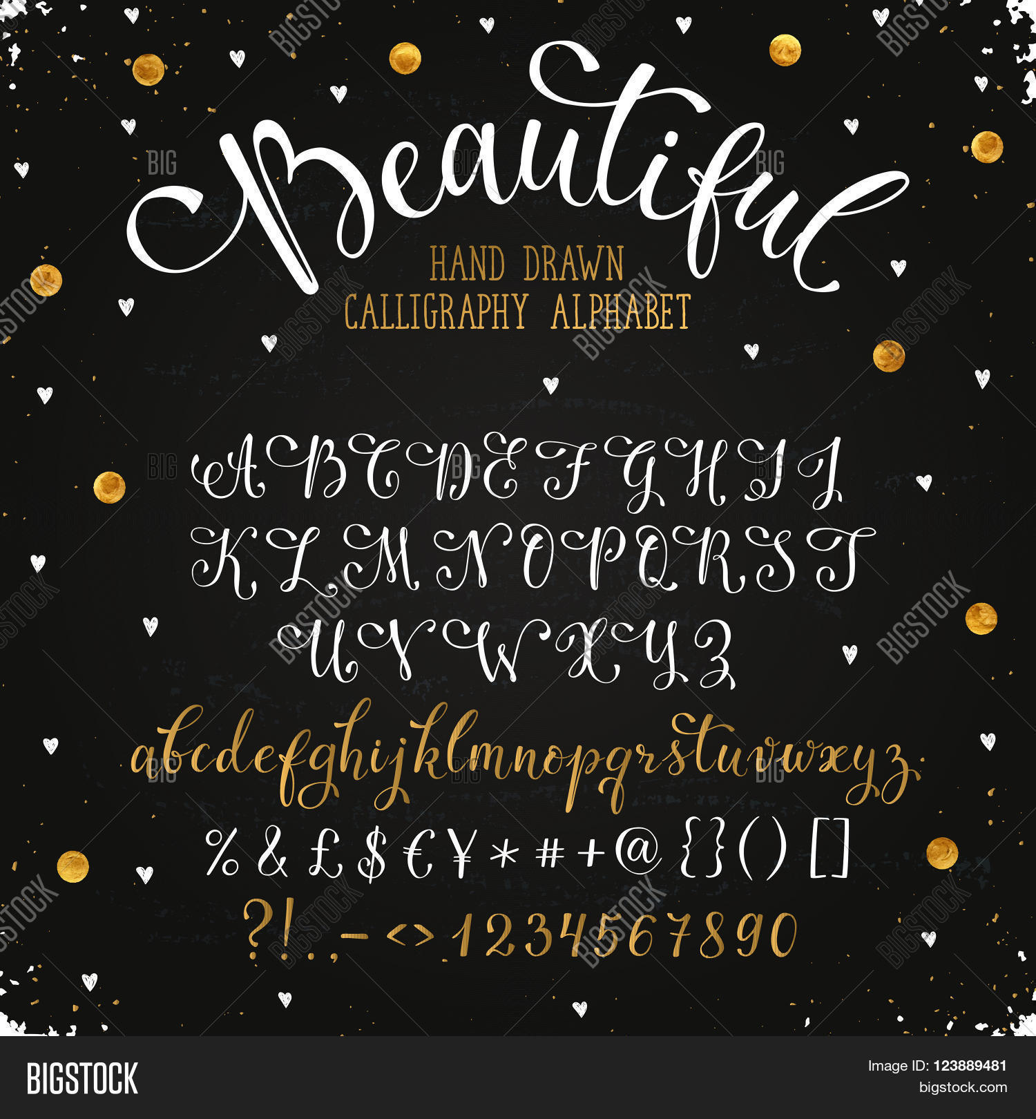 Elegant Calligraphy Vector Photo Free Trial Bigstock