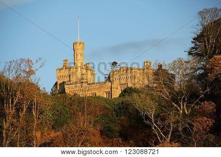 Knock Castle in Largs Ayrshire Scotland UK