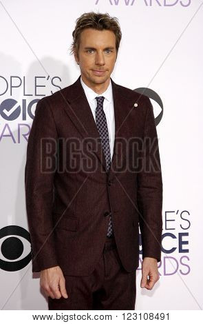 Dax Shepard at the 41st Annual People's Choice Awards held at the Nokia L.A. Live Theatre in Los Angeles on January 7, 2015.
