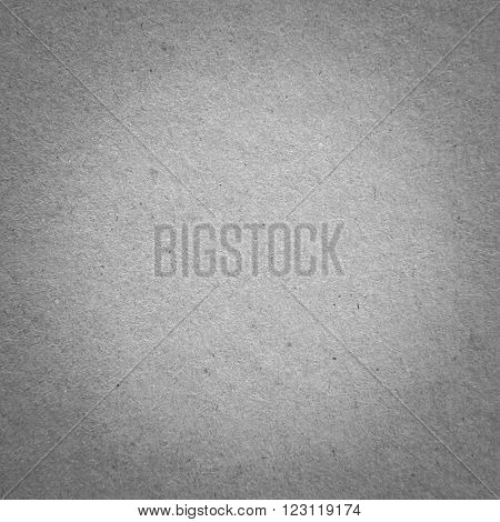 closeup surface detail of old gray (grey) paper texture background use for backdrop or design element in education or business concept