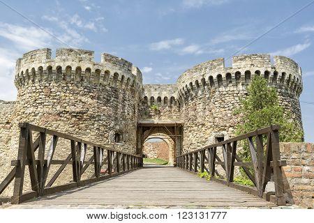 Zindan Gate Inside Belgrade Fortress, Belgrade, Serbia