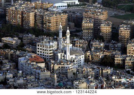 Middle East Syria Damaskus City Centre