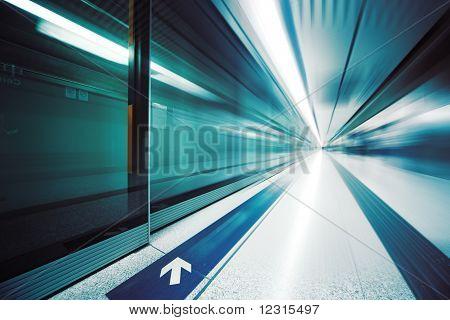 Futuristisches Interieur