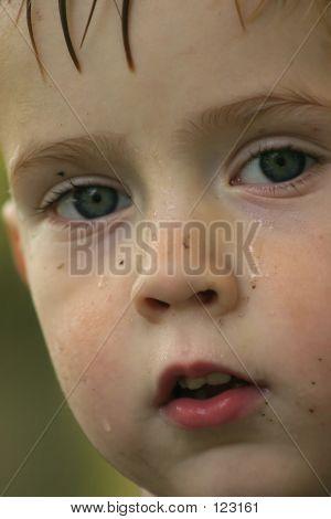 Close-up Of A Little Boy