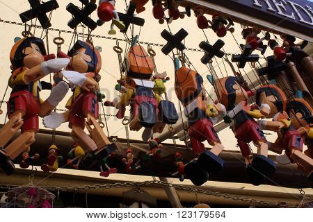 Famous Wooden String Puppets of Sirince, Turkey