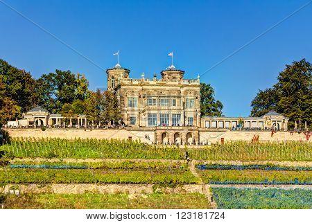 Albrechtsberg Castle Dresden