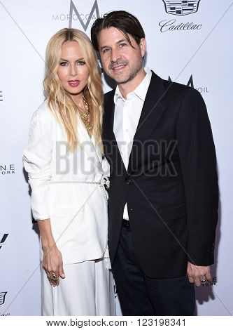 LOS ANGELES - MAR 20:  Rachel Zoe & Rodger Berman arrives to the 2nd Annual Fashion Los Angeles Awards  on March 20, 2016 in Hollywood, CA.