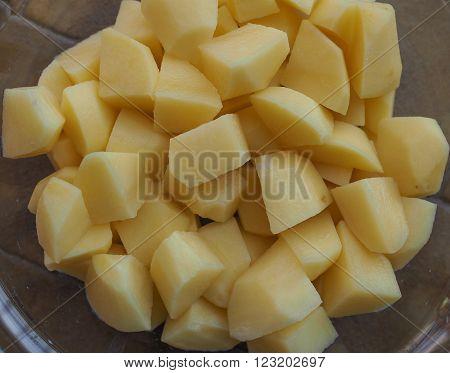 Diced Potato Vegetables