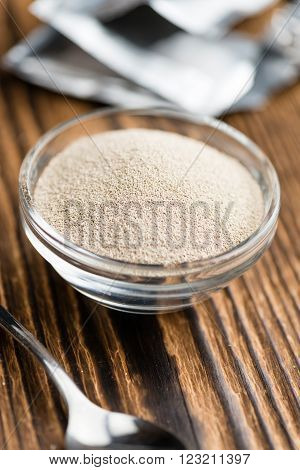 Portion Of Dried Yeast