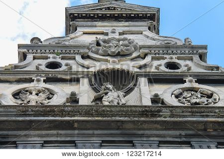 Bernardine Cathedral. Bernardine church and monastery located in Old Town of Lviv south of market square. Ukraine