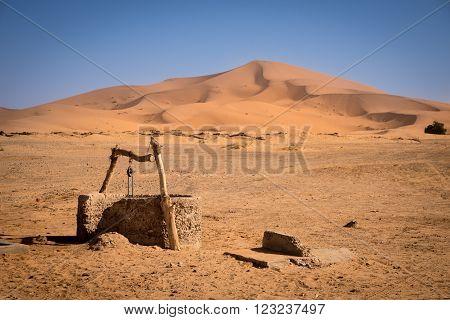 Old Well, Morocco, Sahara Desert
