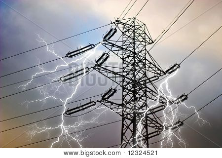 Wires On Sky