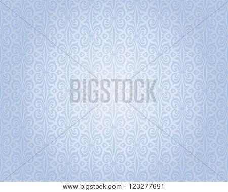 blue silver vintage background repetitive pattern design