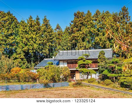 Country house near Nikko town Tochigi Prefecture Japan.