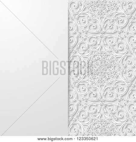 Abstract floral background. EPS 10 ector illustration.