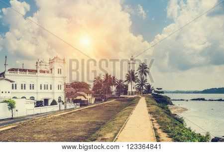 Galle fort in Sri Lanka is a prime Dutch colonial time city in Asia.