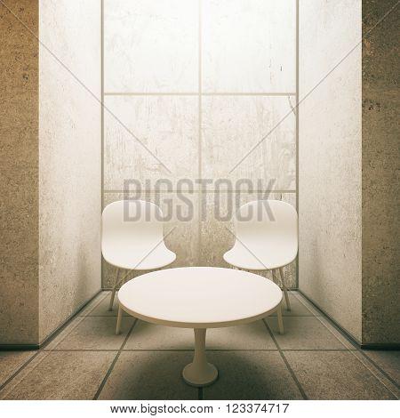 Concrete Tile Interior