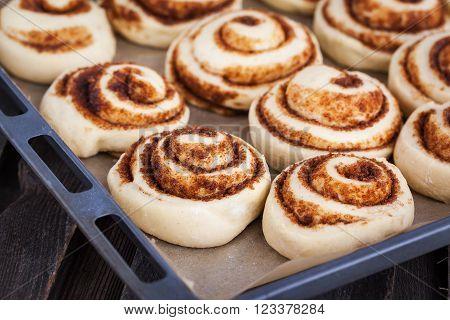 Preparation Process Of Cinnamon Rolls