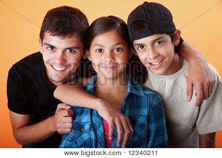 Caring Brothers And Their Sister