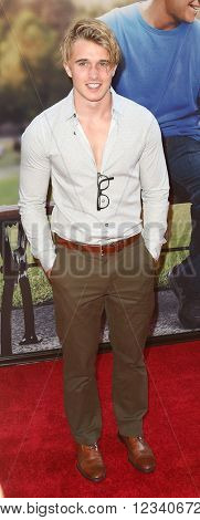 NEW YORK-JUN 24: Actor Miles Clark attends the 'Ted 2' world premiere at the Ziegfeld Theatre on June 24, 2015 in New York City.