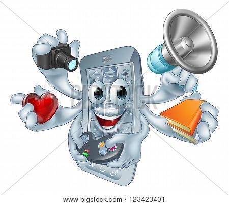 Multitasking Phone Concept