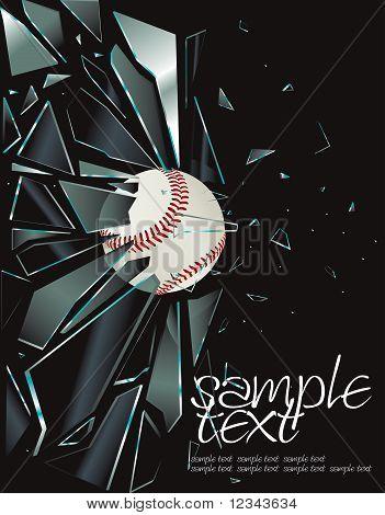 Broken Glass Baseball