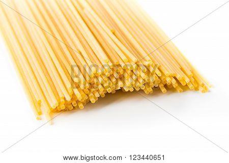 Italian Spaghetti Extruded Through Bronze