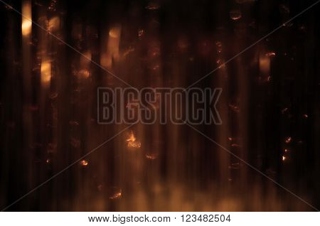 image of abstract gold copper blured background