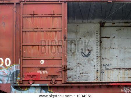 Rail Car Open Door