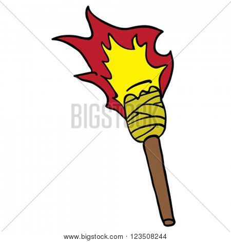 torch cartoon