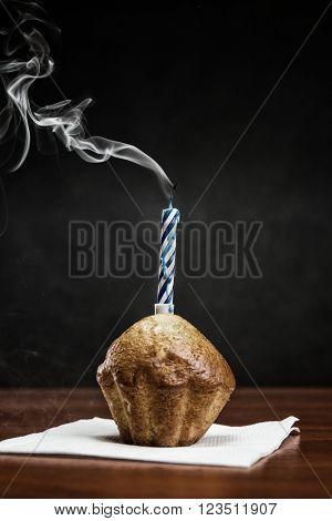 Old birthday cake