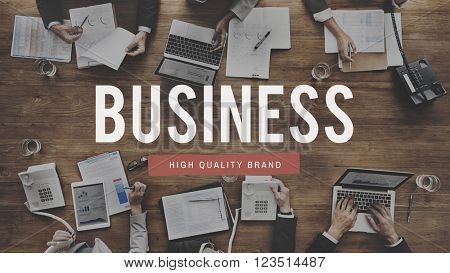 Business Management Company Organization Concept