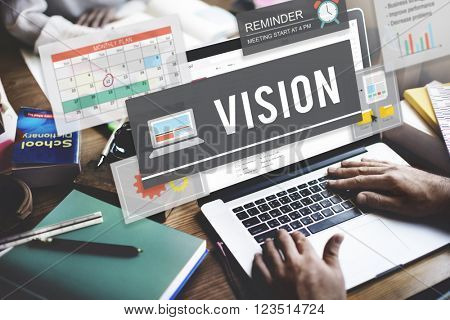 Vision Direction Inspiration Mission Target Future Concept