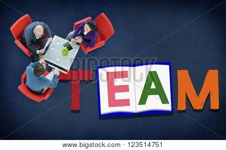 Team Teamwork Partnership Alliance Unity Concept