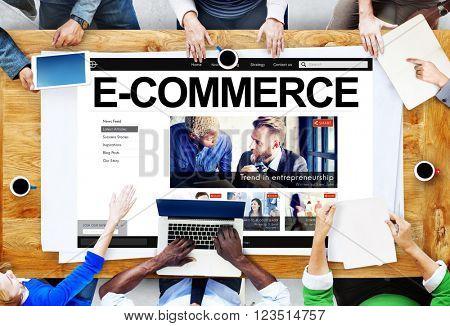 E-Commerce Digital Email Internet Technology Concept