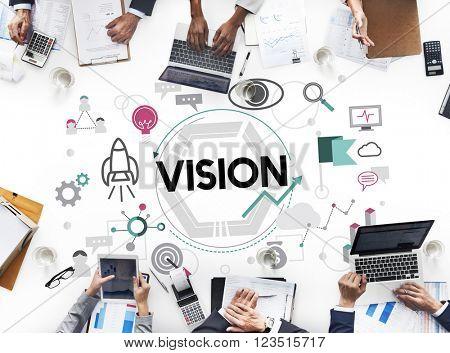 Vision Aspiration Motivation Inspiration Concept