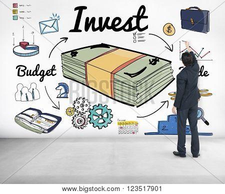 Invest Budget Trade Business Economy Concept