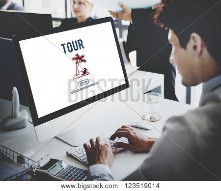 Tour Vacation Travel Destination Concept