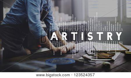 Artistry Design Creativity Craft Art Concept