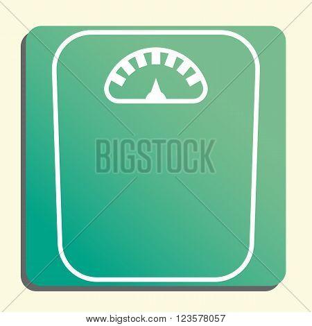 Libra Icon In Vector Format. Premium Quality Libra Icon. Web Graphic Libra Icon Sign On Green Light