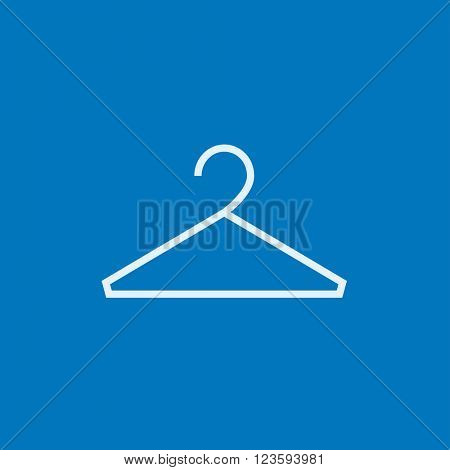 Hanger line icon.