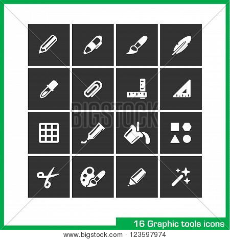 Text edit icon set. Vector white pictograms for web, mobile, business. bold and normal, italic font, ubderline, letter kerning, cut, page