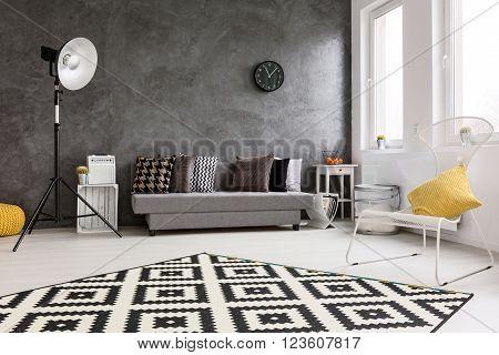 New Design Grey Living Room Idea