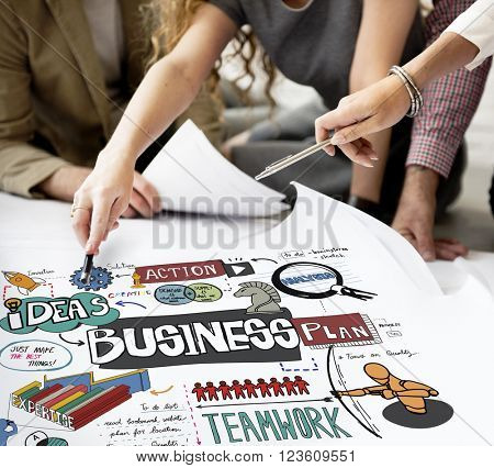 Business Corporation Analysis Strategy Corporate Concept